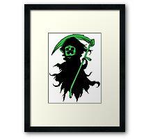 Death Creeper Framed Print