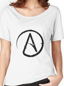 ATHEISM SYMBOL Women's Relaxed Fit T-Shirt