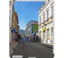 A street in Mostar iPad Case/Skin