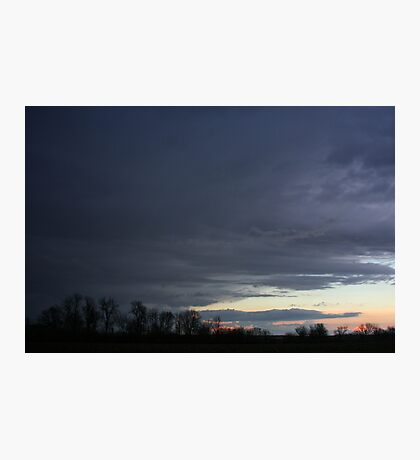 Cloudy Skies Photographic Print