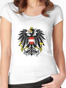 Austria COA Women's Fitted Scoop T-Shirt