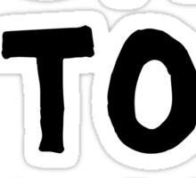 Travis - Born To Rock Sticker