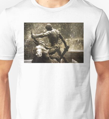 Theseus Slaying a Minotaur Unisex T-Shirt