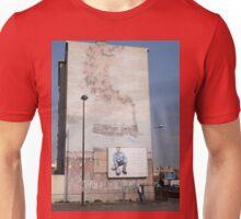 Steam Train Mural, Marseilles, France 2012 Unisex T-Shirt