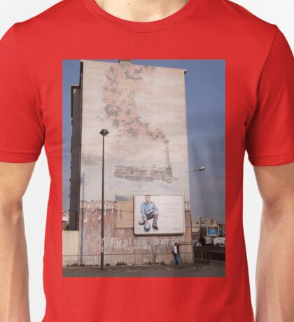 Steam Train Mural, Marseilles, France 2012 Unisex T-Shirt