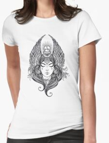 Angel #4 Womens Fitted T-Shirt