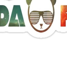 Panda family. Sticker