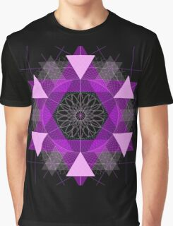 Purple Eye Graphic T-Shirt