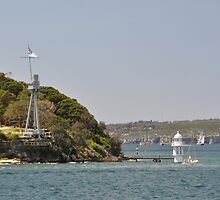 HMAS Sydney Monument & Tall Ships Departure 2013 by muz2142