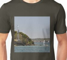 HMAS Sydney Monument & Tall Ships Departure 2013 Unisex T-Shirt