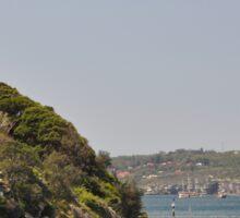 HMAS Sydney Monument & Tall Ships Departure 2013 Sticker