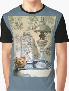 Still life with ginger jar and lamp, on toile. 2012Ⓒ Oil on canvas Graphic T-Shirt