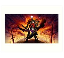 anime- Fate StayNight epic Art Print
