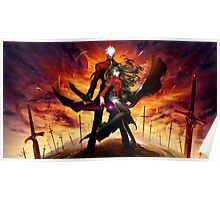 anime- Fate StayNight epic Poster