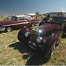 1936 Delage & 1958 Chevrolet @ Melton 2010 by muz2142