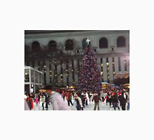 Skating Rink, Christmas Tree, Bryant Park Skating Rink, Bryant Park, New York City Unisex T-Shirt