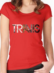 Travis - Albums Logo Women's Fitted Scoop T-Shirt