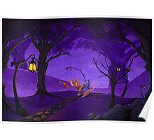 purple fairy Poster
