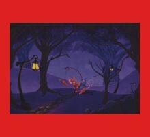 purple fairy Kids Tee