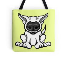 English Bull Terrier Cartoon Big Nose Tote Bag