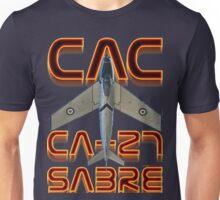 CAC Ca-27 Sabre  Unisex T-Shirt