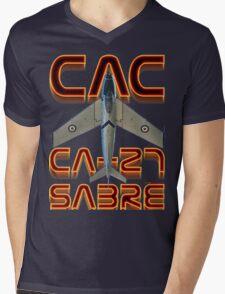 CAC Ca-27 Sabre  Mens V-Neck T-Shirt