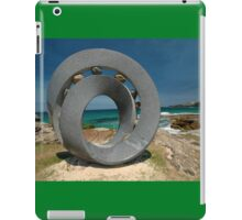 Spiral 2 @ Sculptures By The Sea, 2011 iPad Case/Skin