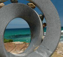 Spiral 2 @ Sculptures By The Sea, 2011 Sticker