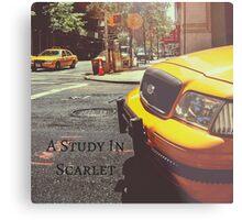 Sherlock Holmes- A Study In Scarlet Metal Print