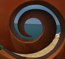 Spiral @ Sculptures By The Sea, 2011 Sticker