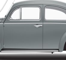 1960 Volkswagen Beetle Sedan - Anthracite Sticker