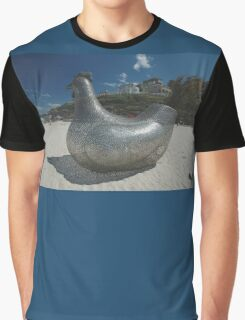 Chicken @ Sculptures By The Sea 2010 Graphic T-Shirt