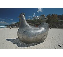 Chicken @ Sculptures By The Sea 2010 Photographic Print
