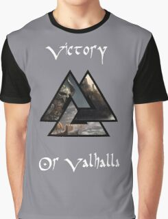 Victory or Valhalla Graphic T-Shirt