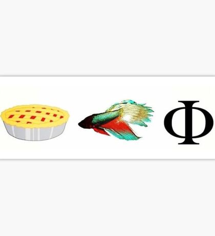 Pi Beta Phi Sticker Sticker