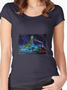 The Loch Ness Monster Women's Fitted Scoop T-Shirt