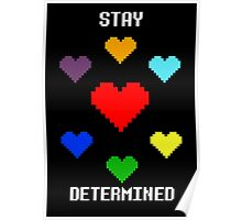 Stay Determined! Poster