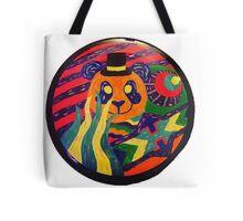 Psychedelic Panda Tote Bag