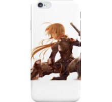 Fate Stay Night Saber Armure Blonde Epee iPhone Case/Skin