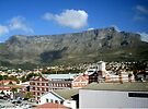 Table Mountain, Cape Town, South Africa by Margaret  Hyde