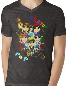 Crayon Pop - Dancing All Night Mens V-Neck T-Shirt