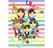 Crayon Pop - Dancing All Night Photographic Print