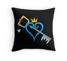 Kingdom Hearts - Heart and Sword Throw Pillow