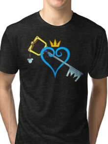 Kingdom Hearts - Heart and Sword Tri-blend T-Shirt