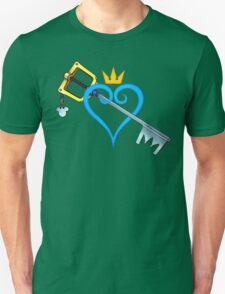 Kingdom Hearts - Heart and Sword Unisex T-Shirt