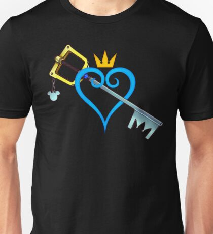 Kingdom Hearts - Heart and Sword Unisex T-Shirt