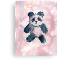 PandaHugz Watercolor Metal Print