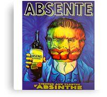 Van Gogh Absinthe Poster Metal Print