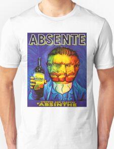 Van Gogh Absinthe Poster Unisex T-Shirt
