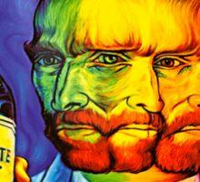 Van Gogh Absinthe Poster Sticker